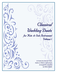 Classical Wedding Duets Book